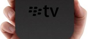 Rumor: ¿Trabaja blackberry en su Apple TV particular?
