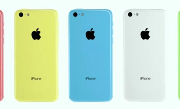Así es el nuevo iPhone 5c