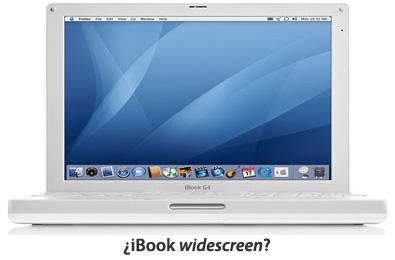 ¿iBook widescreen?