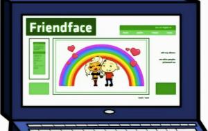 friendface en IT Crowd