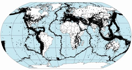mapa terremotos