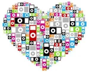 iPod heart