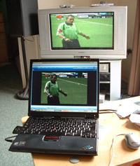 Laptop & TV