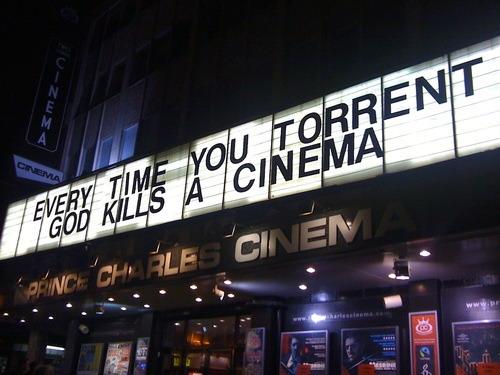 No mates a los cines
