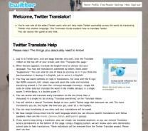 Twitter traducción