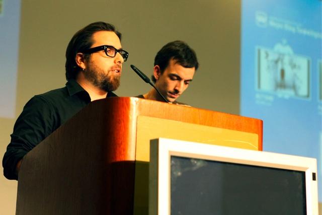 Eduardo Arcos y Elías Notario / Foto: Jonan Basterra