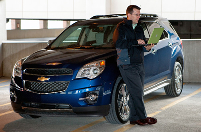 Chevrolet con internet
