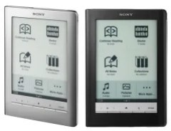 Sony Reader Touch Edition PRS 600 Silver-Black