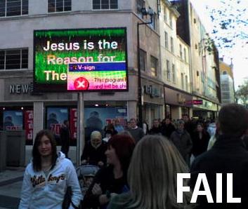 Religion FAIL