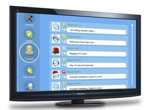 Panasonic Skype-TV