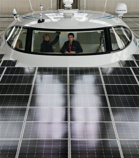 BC EU Germany Solar Boat
