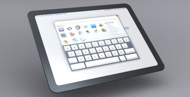 Tablet Chrome OS 5