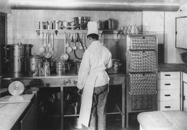 Hindenburg - Cocina