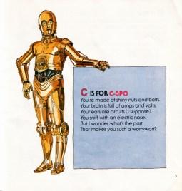 La C de C3PO