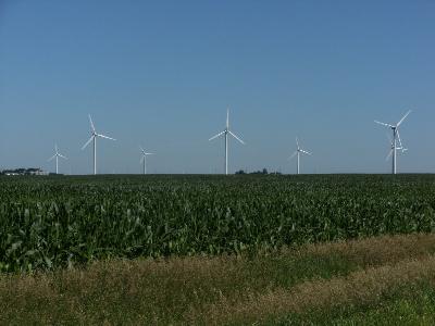 Google Parques eólicos en Iowa