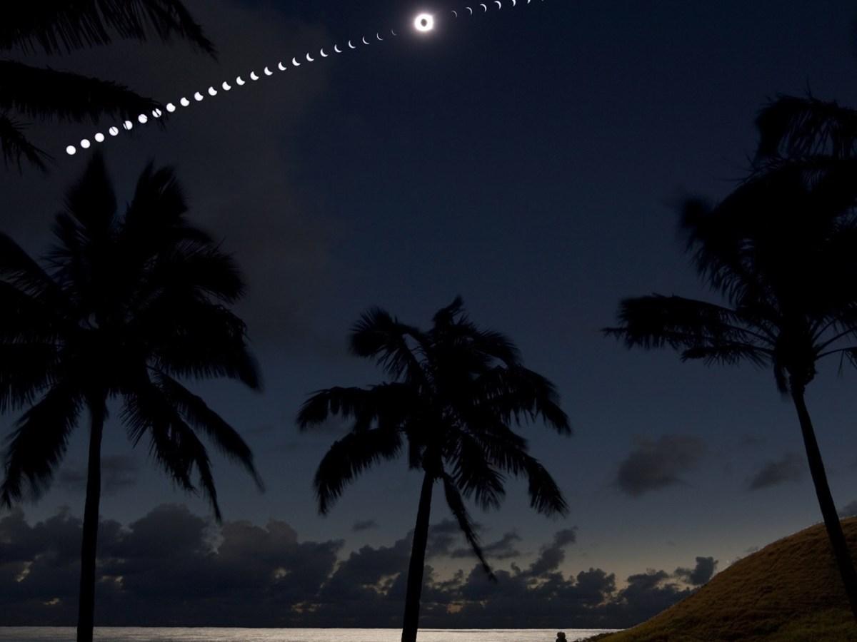 Eclipse en Isla de Pascua