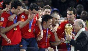 España victoria Mundial de Fútbol Sudáfrica 2010 7