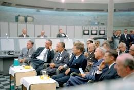 Presidente Kennedy en Cabo Cañaveral