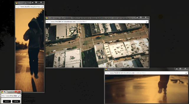 Arcade Fire experimento HTML5 con Chrome