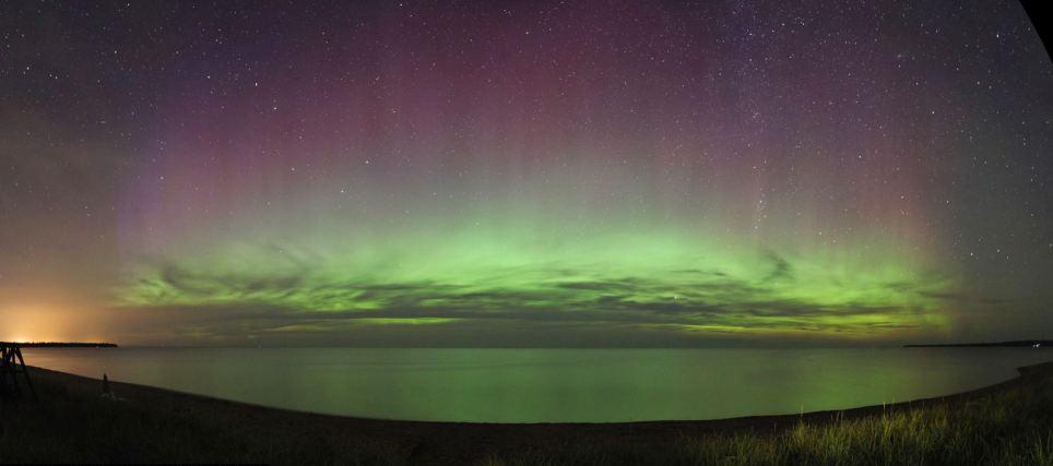 Aurora Boreal Michigan