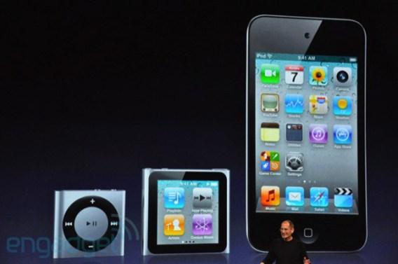 Nuevos iPods