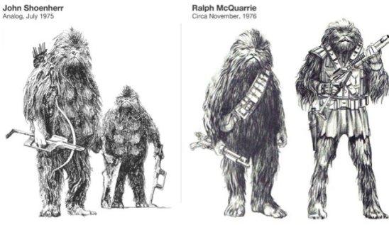 chewbacca evolucion