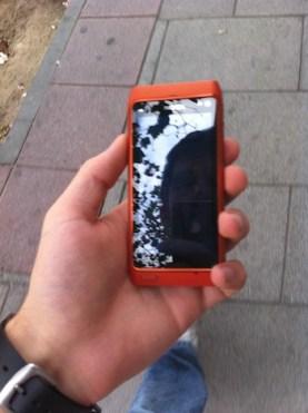 Nokia N8 Diseño