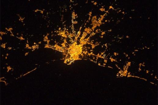 Valencia desde la ISS