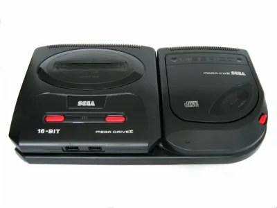 Mega Drive y Mega CD