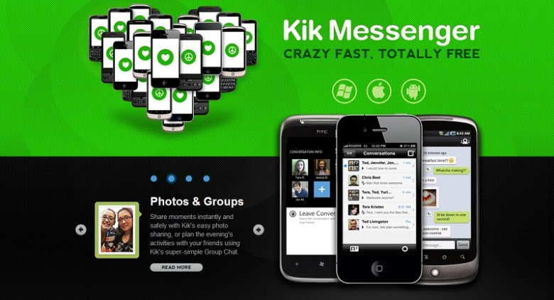 Kik Messenger - Free real-time texting for all