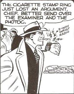 Radio-reloj de Dick Tracy
