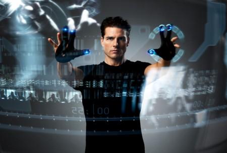 La interfaz de Minority Report se parece a Kinect