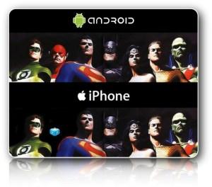 Alegoría Flash en Android vs. iPhone