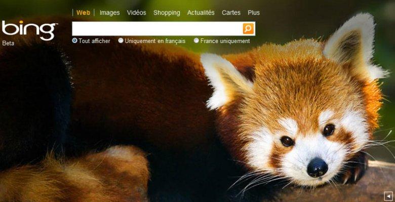 Firefox y Bing