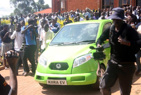 Uganda Coche electrico