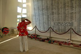 Interior memorial USS Arizona