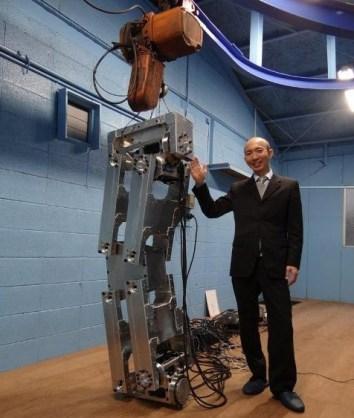 Robot 4 metros japones 2