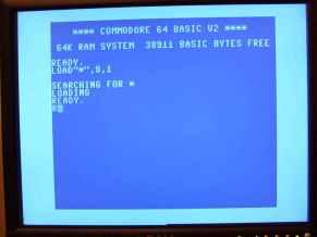Commodore screen