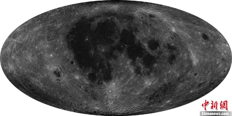 China mapa luna 1