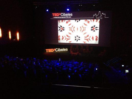 Escenario del TEDx Cibeles