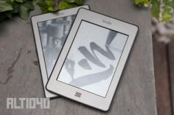 Kindle Touch y Kindle de cuarta generación