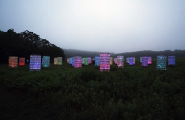 """Light"" por Bruce Munro"