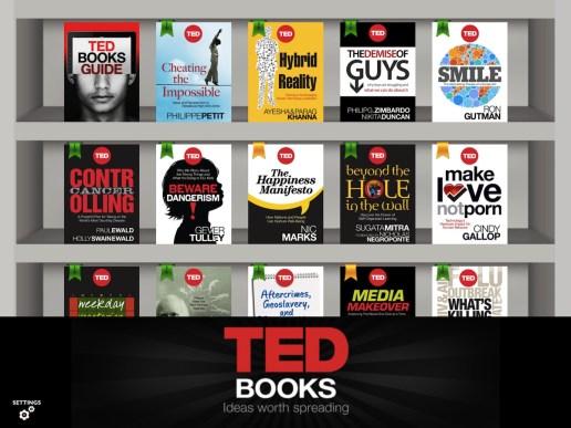 TED Books para iPad