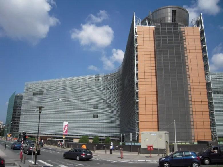 Comision Europea Burselas