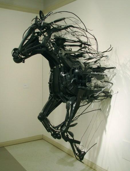 ESculturas de Sayaka Ganz