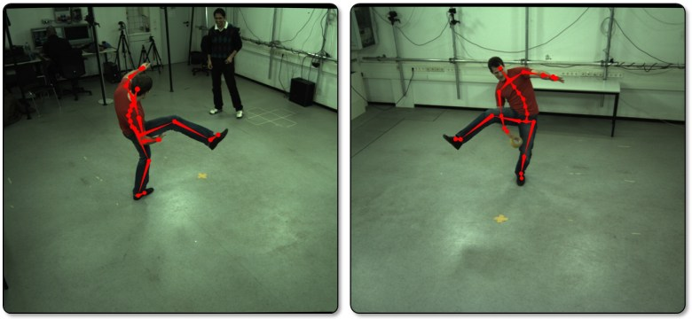 Captura de movimientos Max Planck