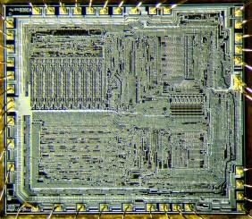Intel 8080 layout
