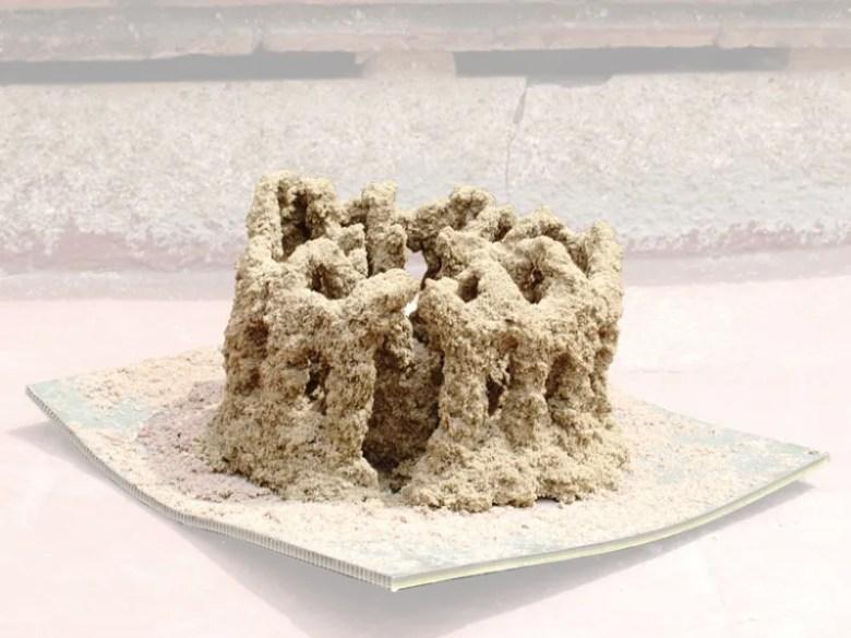 estructura arena