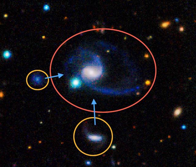 Galaxias gemelas a la Vía Láctea