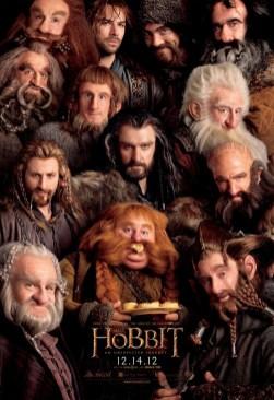 The Hobbit - Poster enanos